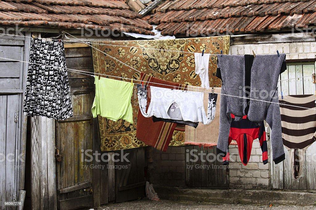 Laundry royalty-free stock photo