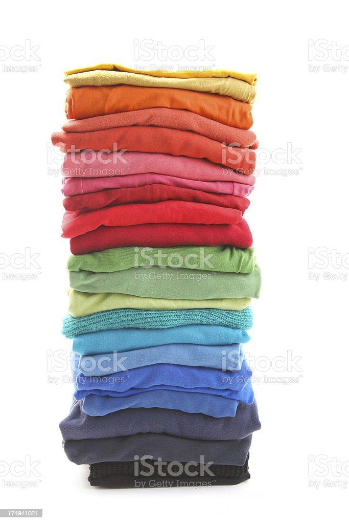 laundry pile royalty-free stock photo