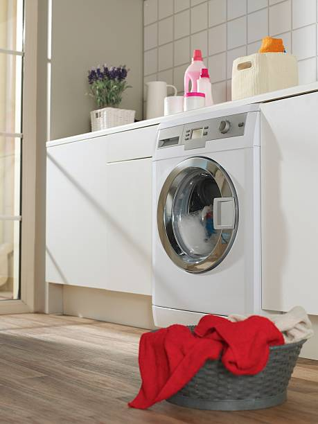 laundry room - laundry laundry room stock photos and pictures
