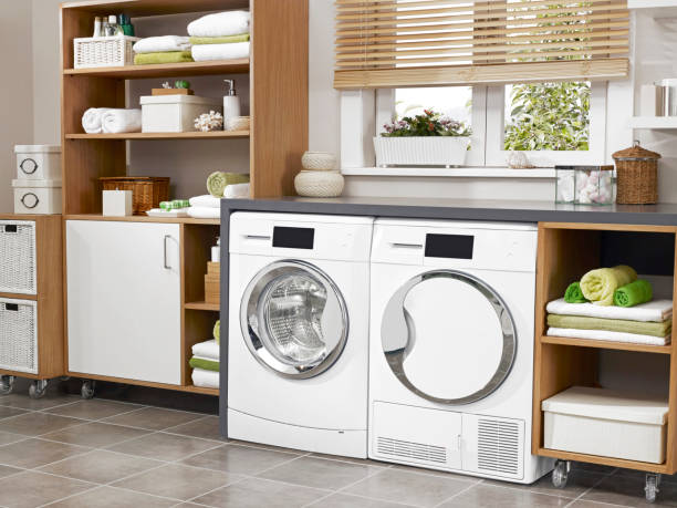 laundry room - laundry laundry room stock pictures, royalty-free photos & images