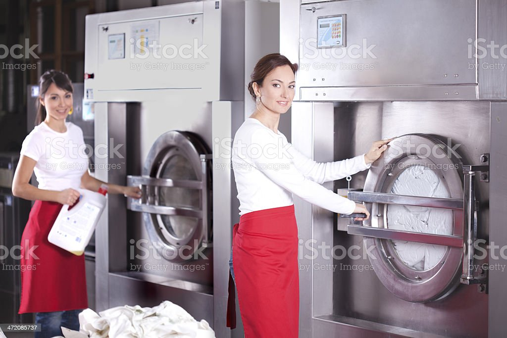 Laundry service. - Royalty-free Adult Stock Photo