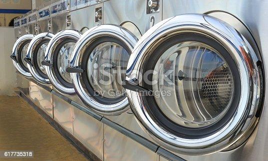istock Laundry shop 617735318