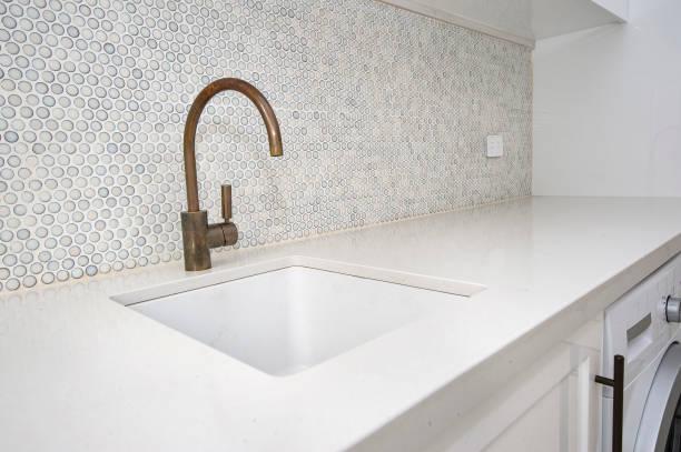 Wäscherei Sink und Faucet – Foto