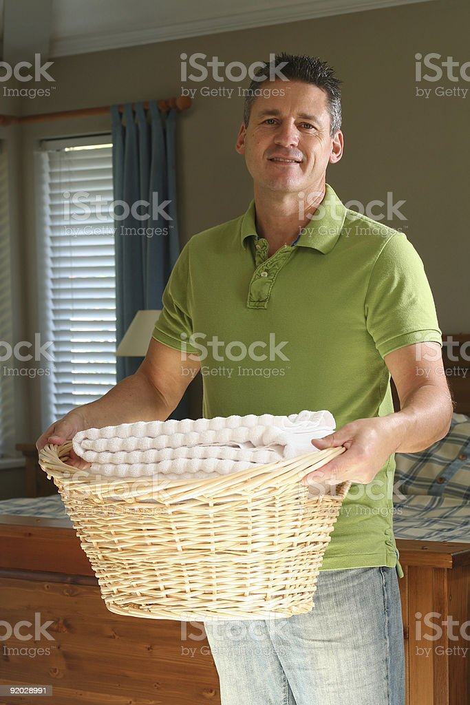Laundry time royalty-free stock photo