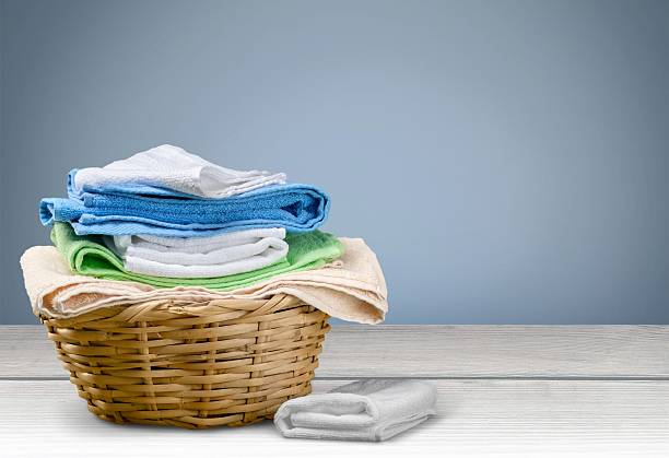 Laundry, Towel, Laundry Basket Laundry, Towel, Laundry Basket. laundry basket stock pictures, royalty-free photos & images