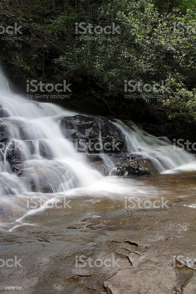 Laurel Falls royalty-free stock photo