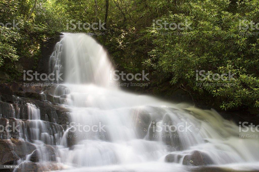 Laurel Falls stock photo