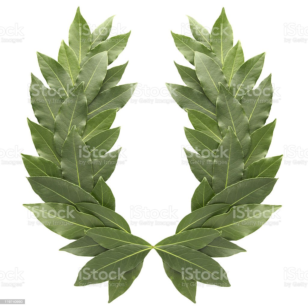 laurel wreath royalty-free stock photo