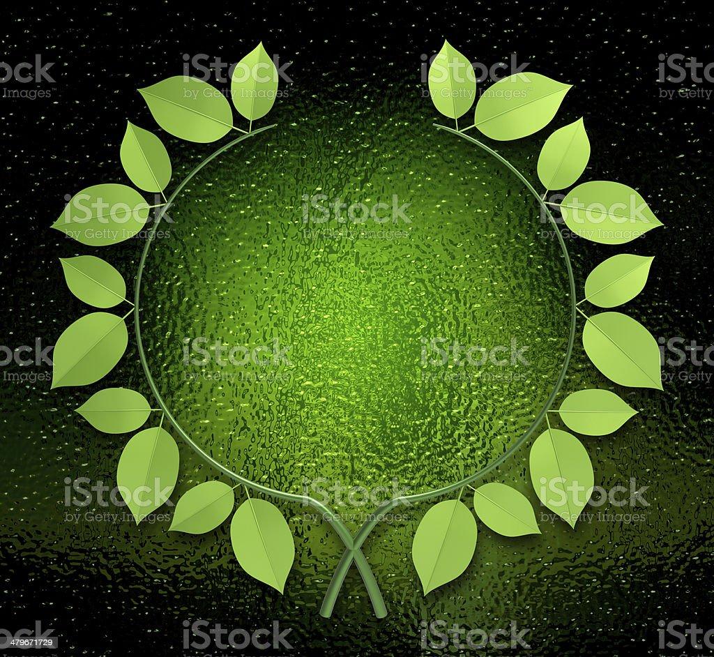 Laurel wreath royalty-free stock photo