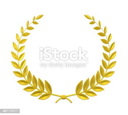 istock Laurel Wreath 487175171