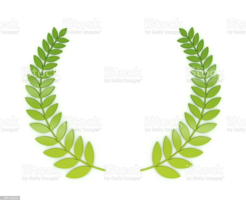 Laurels wreath royalty-free stock photo