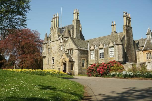 Lauriston Castle, Edinburgh stock photo