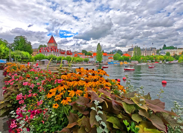 Lausanne Ouchy waterfront – Foto