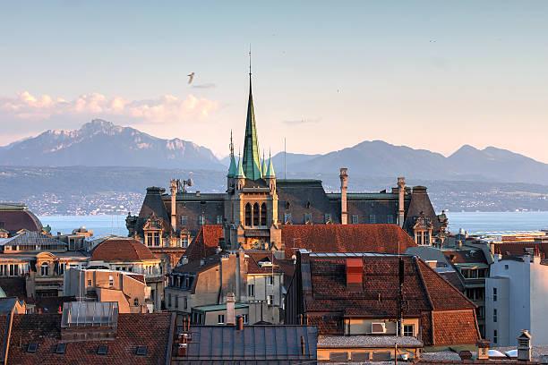 Lausanne, Schweiz – Foto
