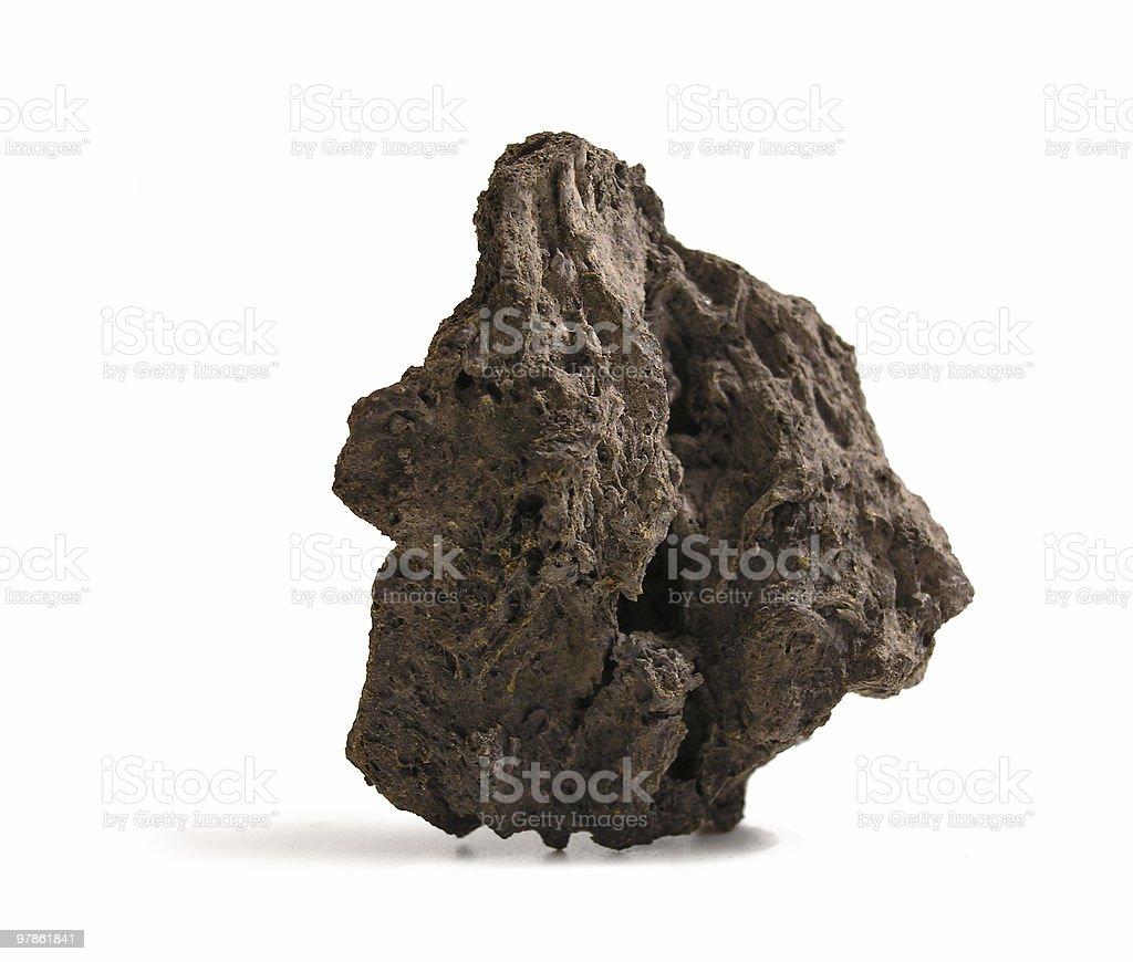 lava chunck stock photo