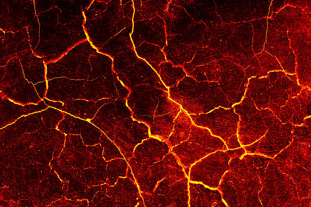 Lava crack cement wall background. Lava crack cement wall background. lava stock pictures, royalty-free photos & images