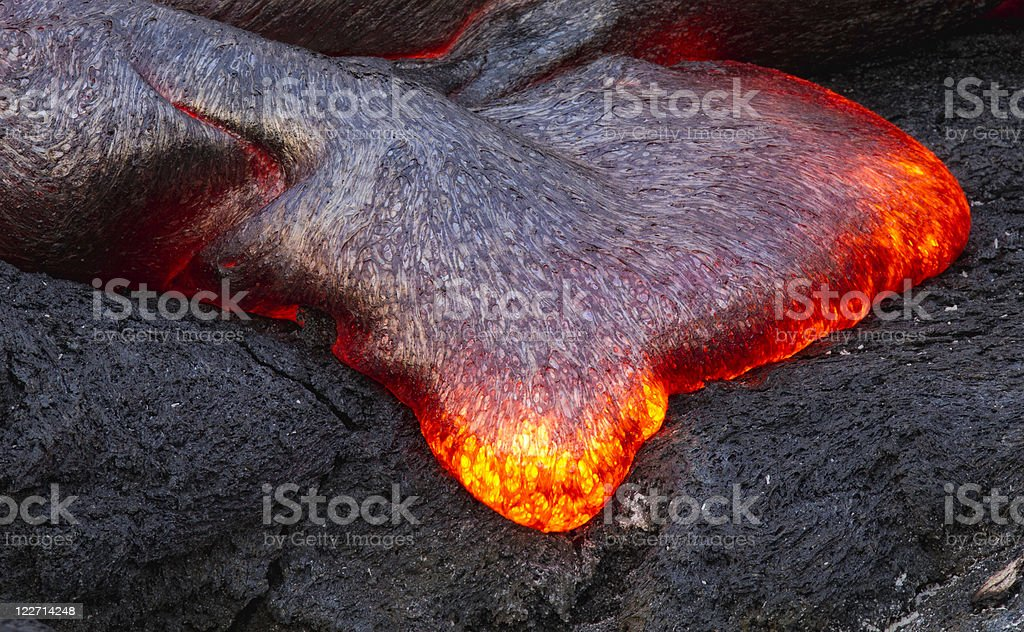 Lava Detail royalty-free stock photo