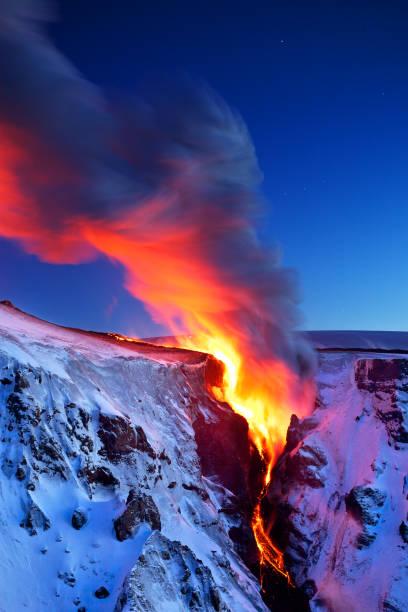 lava falls - 2010 foto e immagini stock