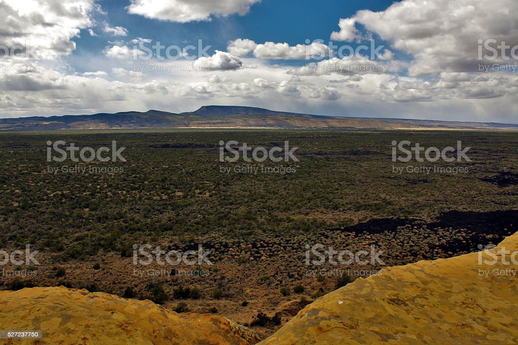 Lava Fields of El Malpais stock photo