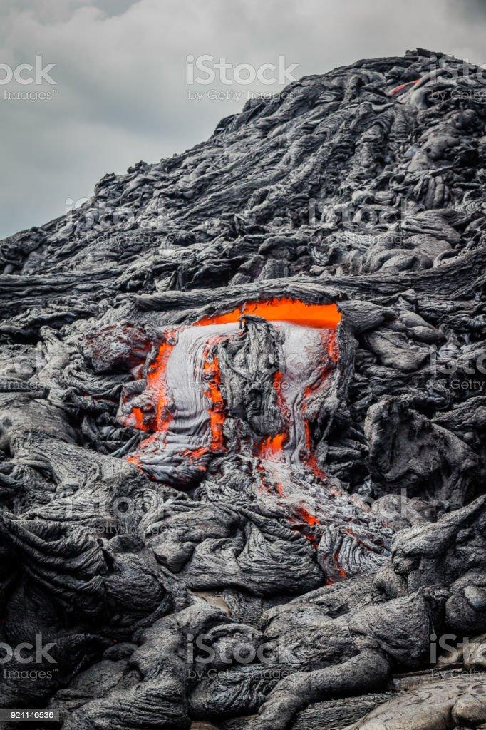 Lava Flow 2 stock photo