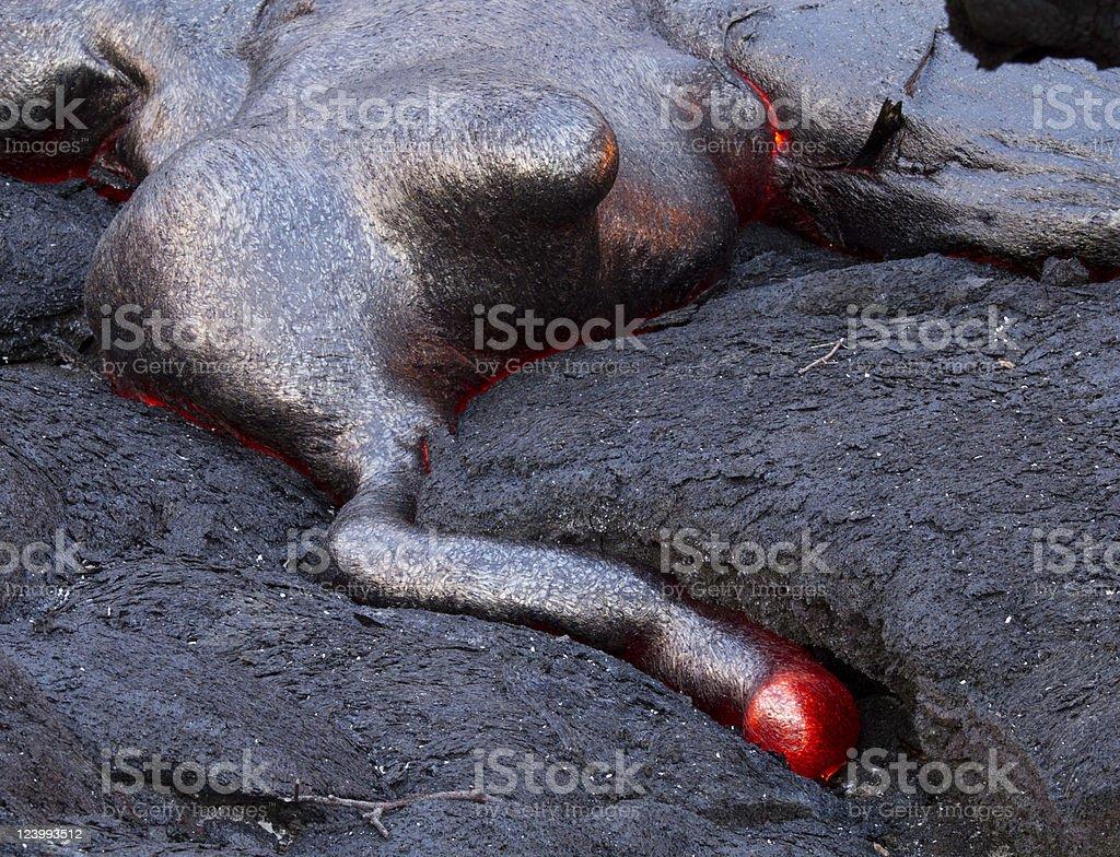 Lava Monster stock photo