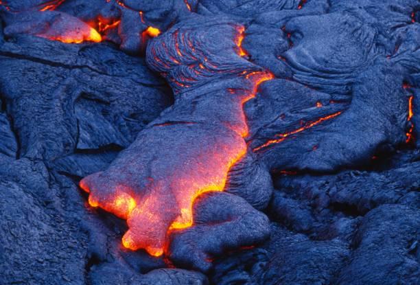 Lava stock photo