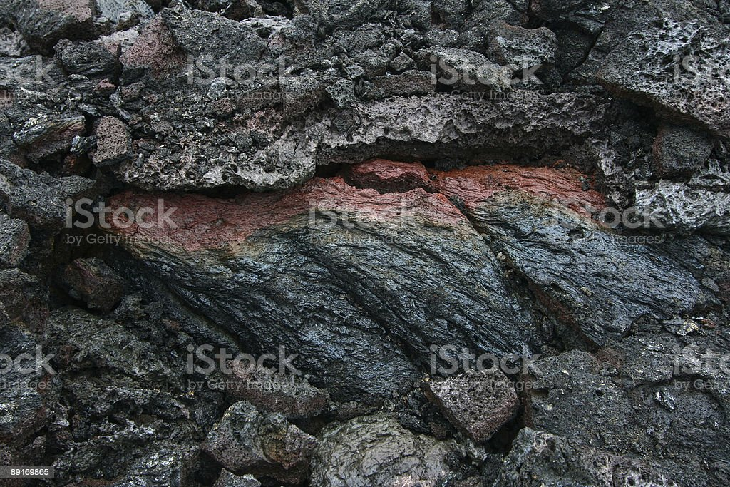 Lava royalty-free stock photo
