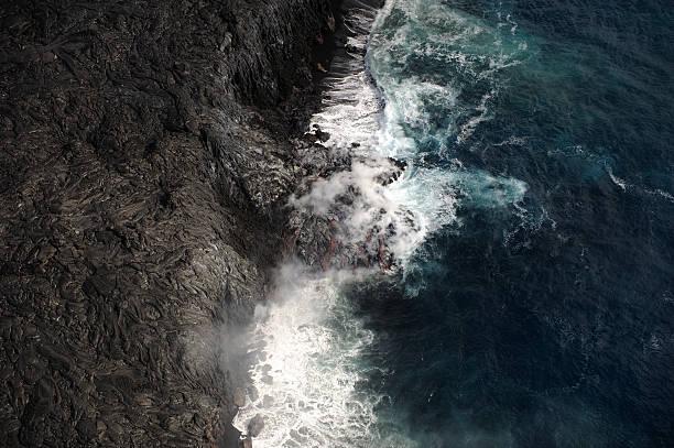 Lava & mer - Photo