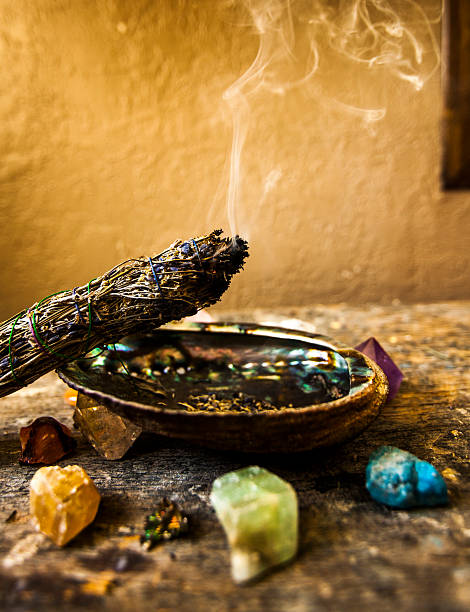 Best Sage Smoke Stock Photos, Pictures & Royalty-Free Images