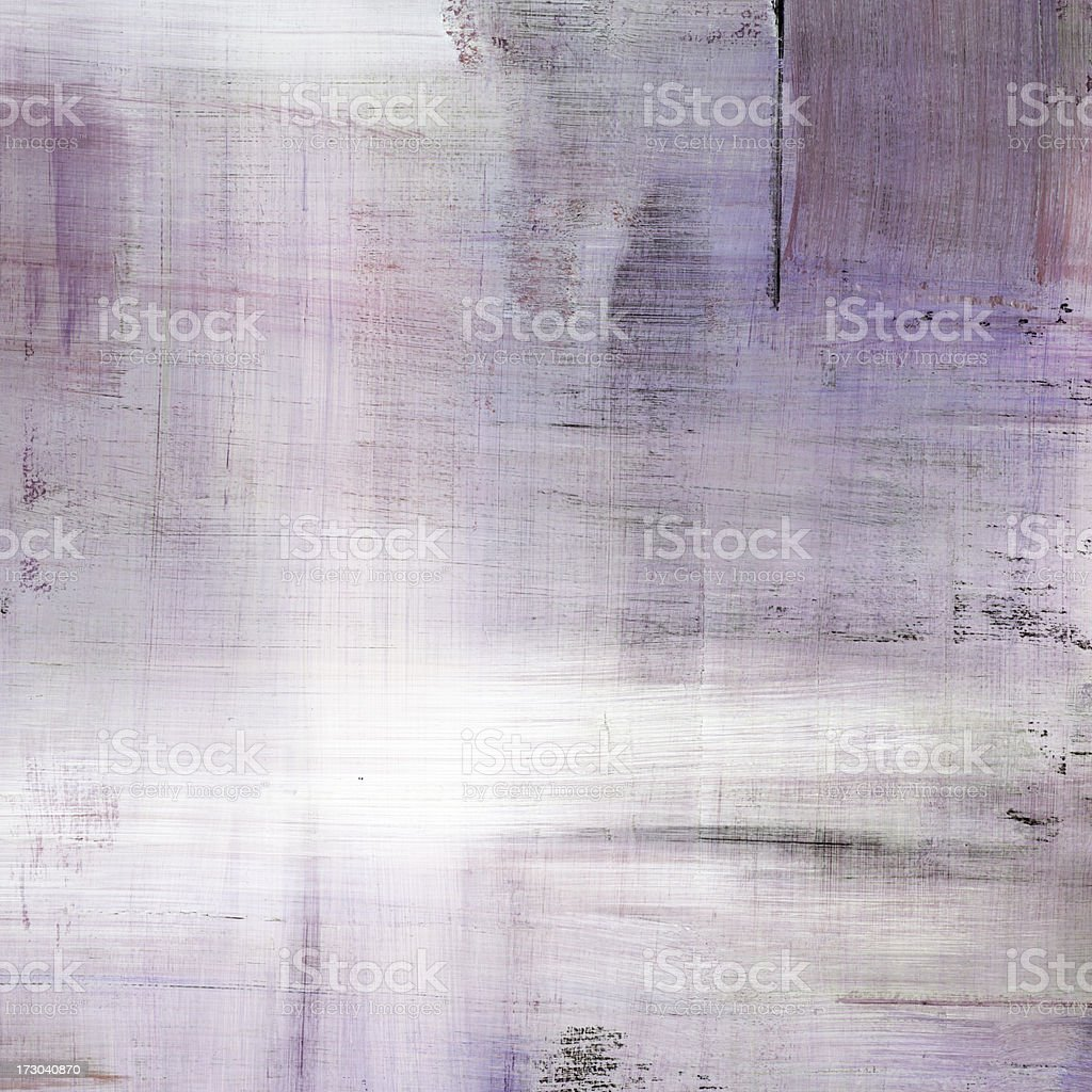 Lavender Abstract Painting royalty-free stock photo