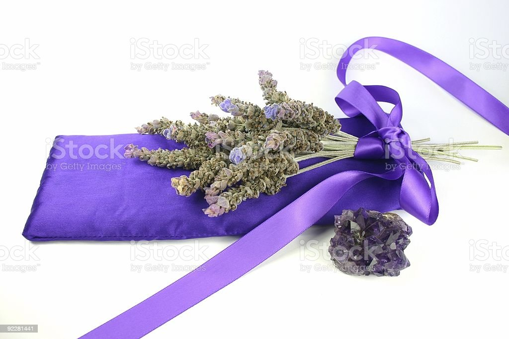 Lavender and Amethyst royalty-free stock photo