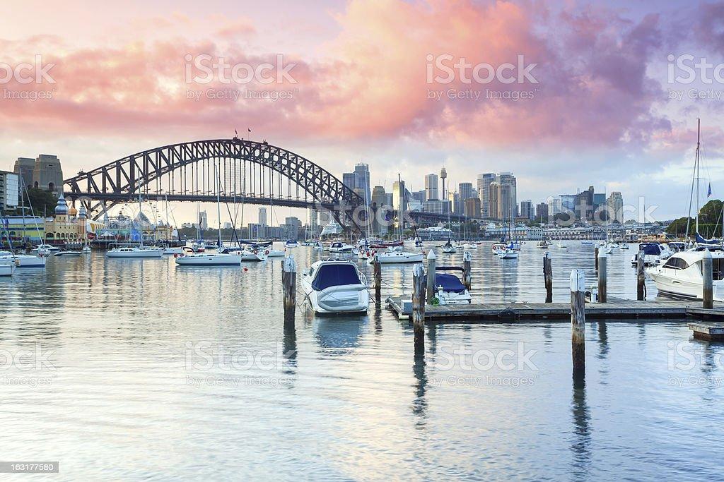 Lavender Bay Sydney stock photo