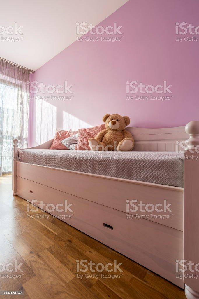 Lavendel Schlafzimmer Für Mädchen Stockfoto und mehr Bilder ...
