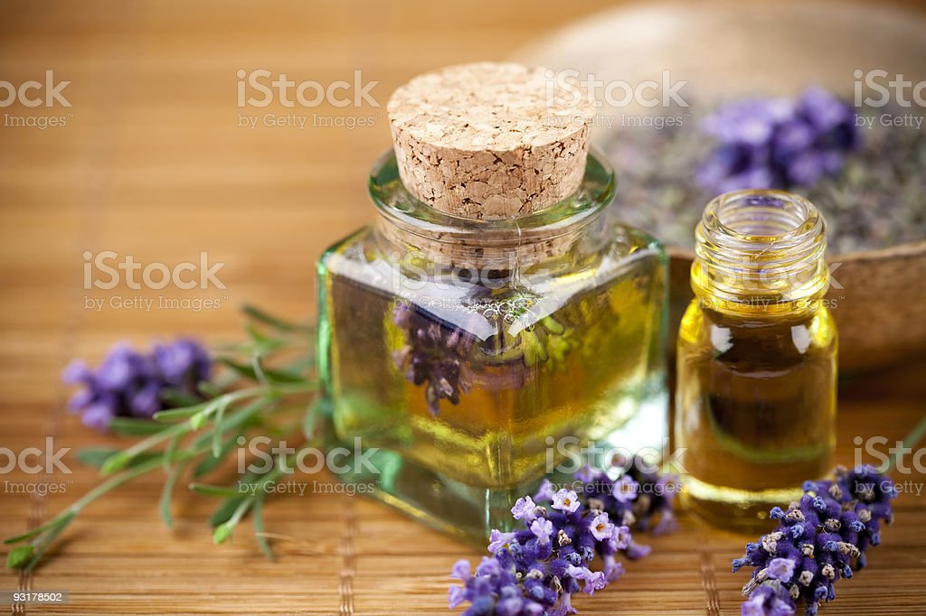 lavender cosmetic stock photo
