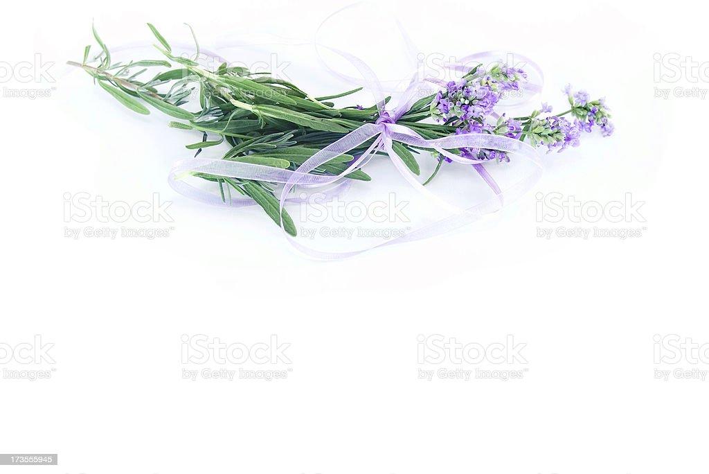 Lavender Flower Decoration royalty-free stock photo