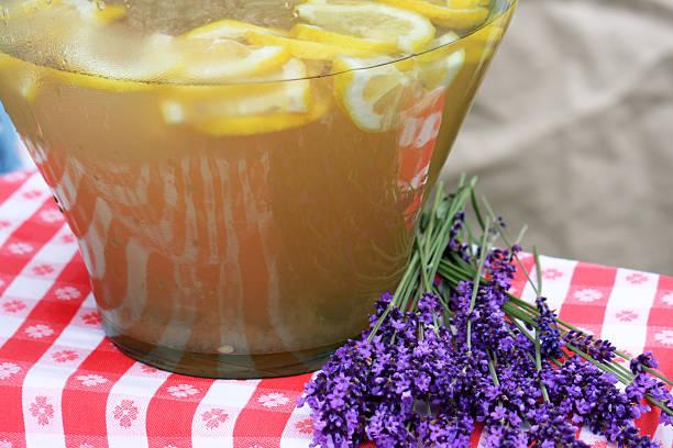 Lavender Lemonade stock photo