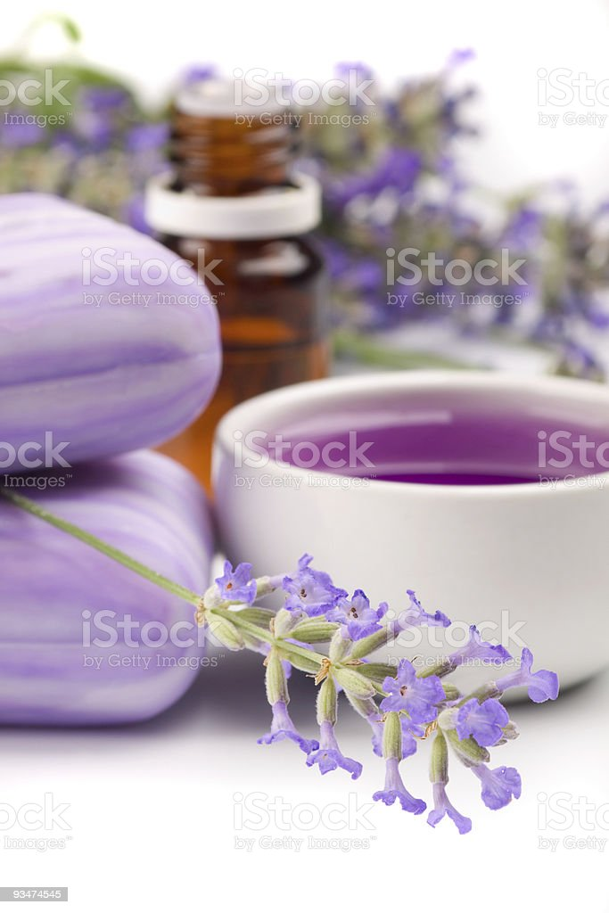 Lavender products royalty-free stock photo