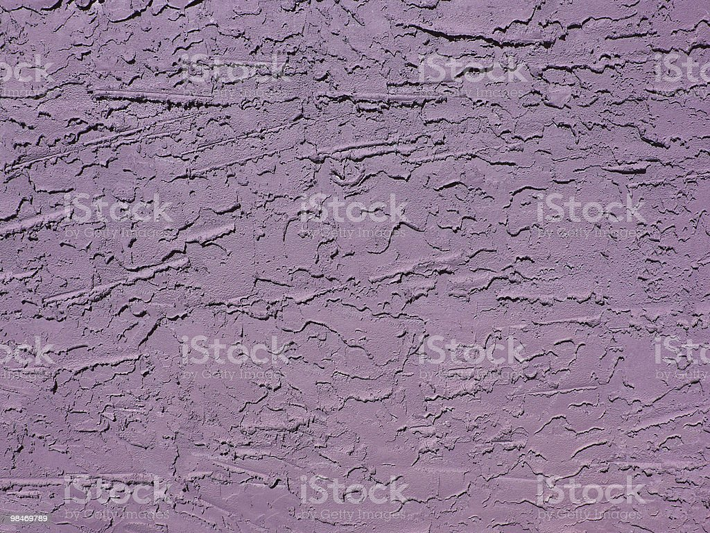 Lavender Stucco Wall royalty-free stock photo