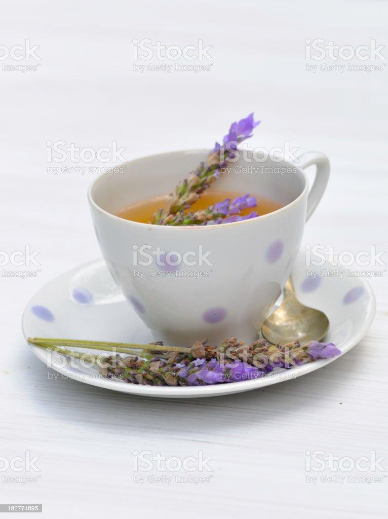 Lavender tea II royalty-free stock photo
