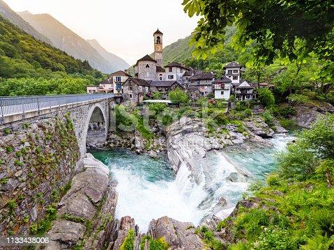 istock Lavertezzo in Valle Verzasca, Canton Ticino, Switzerland 1133438006