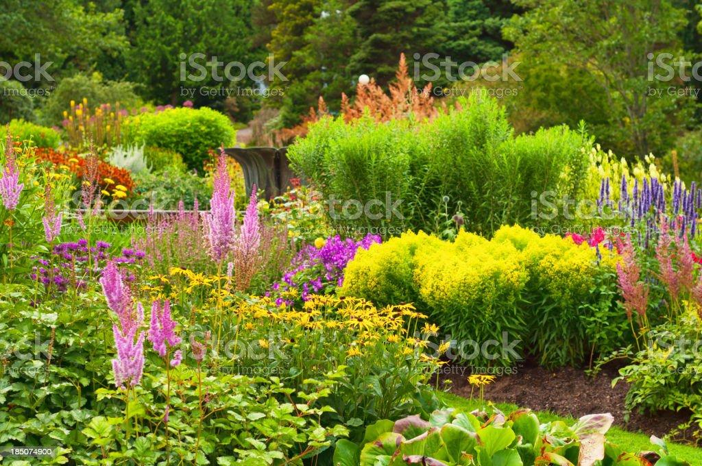 Lavish Garden royalty-free stock photo