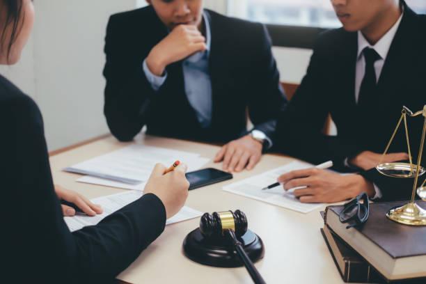 Recht, Beratung und juristische Dienstleistungen-Konzept. – Foto