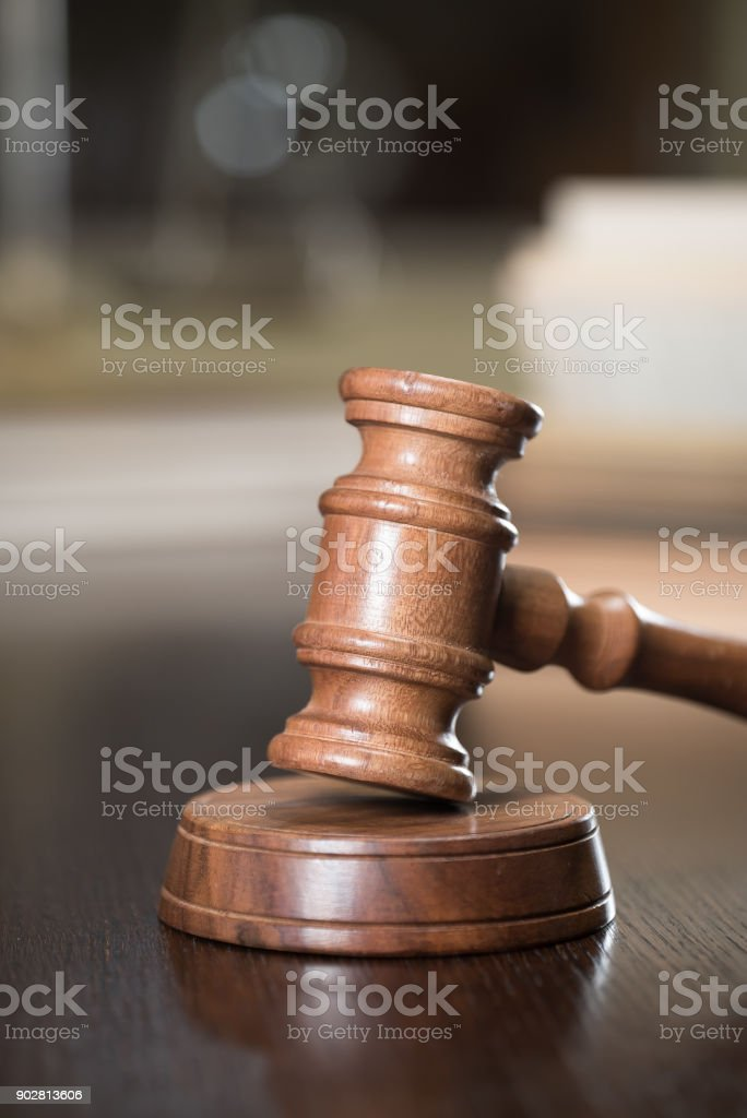 Law and Justice concept image stock photo