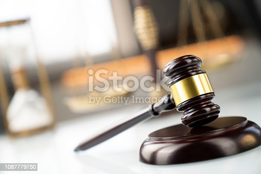 istock Law and justice concept. 1087779750