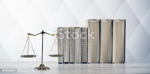 istock Law and Justice concept. 823259824