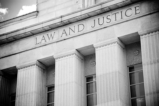 Law and Justice Law and Justice building. image stock pictures, royalty-free photos & images