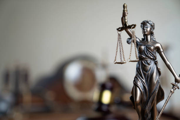 Law and justice theme. stock photo