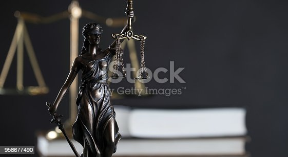 istock Law and Justice Theme 958677490