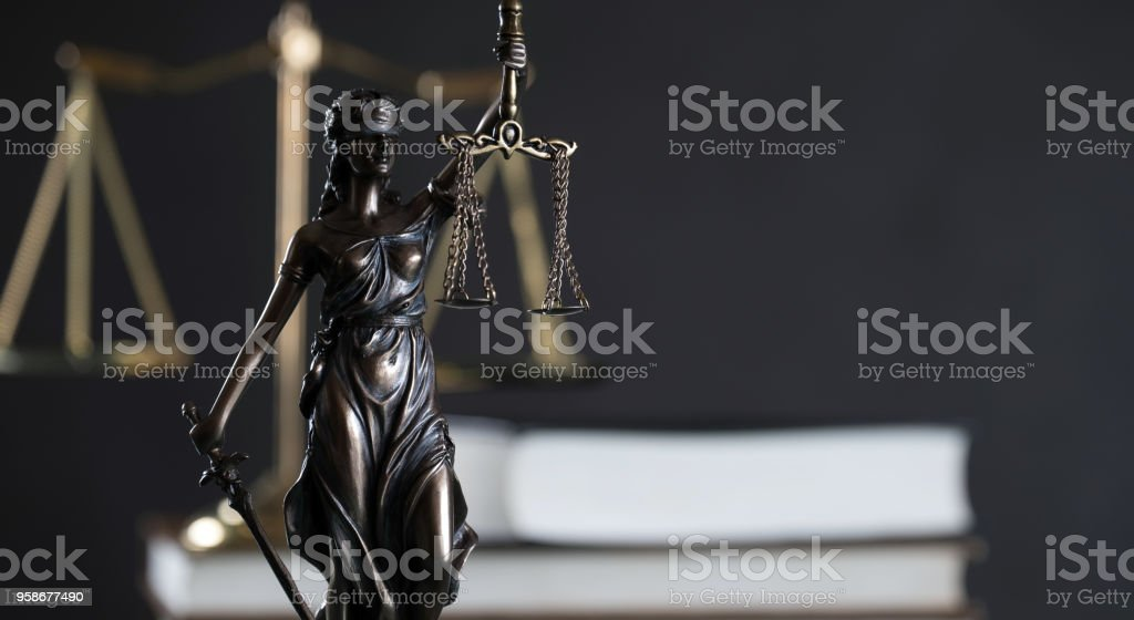 Law and Justice Theme stock photo