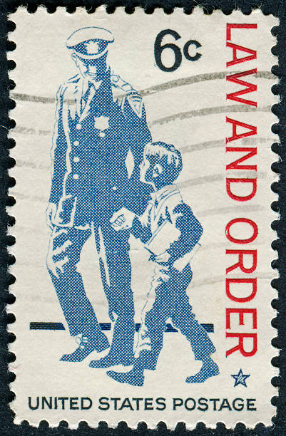 Royalty Free Police Postage Stamp Mail Law Pictures Images And